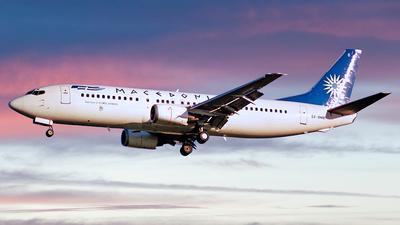 SX-BMB - Boeing 737-46J - Macedonian Airlines (MAT)