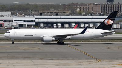 A picture of CGOCJ - Boeing 767316(ER)(BDSF) - Cargojet Airways - © Mark Szemberski
