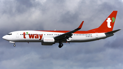 EI-EBT - Boeing 737-8AS - T'Way Air