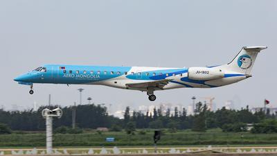 JU-1802 - Embraer ERJ-145LR - Aero Mongolia