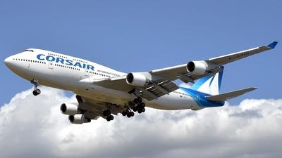F-GTUI - Boeing 747-422 - Corsair International