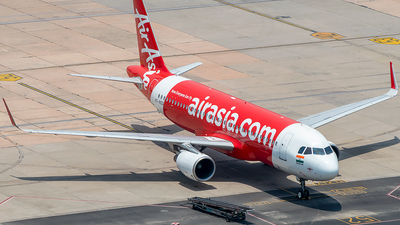 A picture of VTRED - Airbus A320216 - AirAsia - © Sandeep Pilania