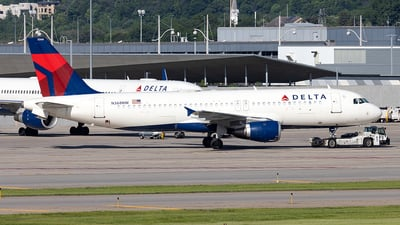 N368NW - Airbus A320-212 - Delta Air Lines