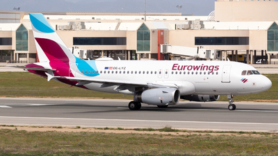 A picture of OELYZ - Airbus A319132 - Eurowings - © Ismael Lopez - PMI Plane Spotting