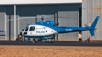 ZS-RGT - Aérospatiale AS 350B3 Ecureuil - South Africa - Police