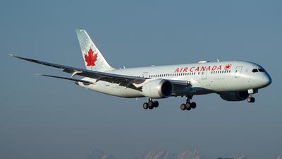 A picture of CGHQQ - Boeing 7878 Dreamliner - Air Canada - © Stefan Gschwind