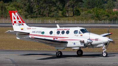 HK-5123 - Beechcraft E90 King Air - Ambulancias Aereas de Colombia