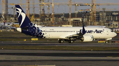 YR-MXA - Boeing 737-8 MAX - Blue Air