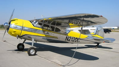 N2120C - Cessna 195B - Private