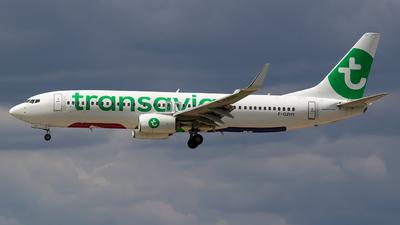 F-GZHY - Boeing 737-8K2 - Transavia France