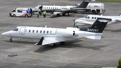 N483SC - Bombardier Learjet 45 - Private