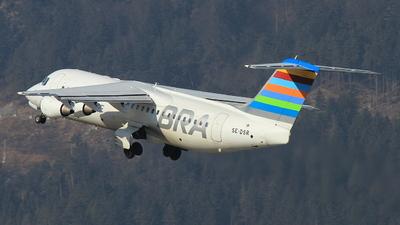 SE-DSR - British Aerospace Avro RJ100 - Braathens Regional