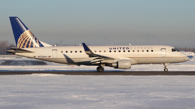 A picture of N722YX - Embraer E175LR - United Airlines - © Andriy Yegorov