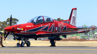 A54-037 - Pilatus PC-21 - Australia - Royal Australian Air Force (RAAF)