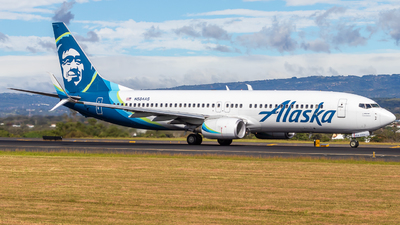 A picture of N584AS - Boeing 737890 - Alaska Airlines - © Alonso Cisneros