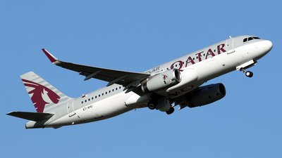 A7-AHU - Airbus A320-232 - Qatar Airways
