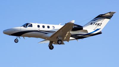 A picture of N74MZ - Cessna 525 Citation M2 - [5251074] - © Gabriel Wallace