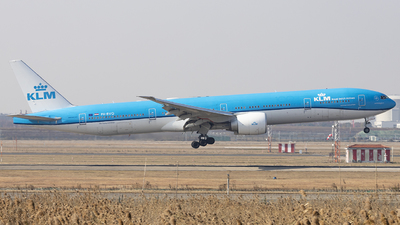 A picture of PHBVO - Boeing 777306(ER) - KLM - © lixing
