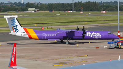 G-JECZ - Bombardier Dash 8-Q402 - Flybe