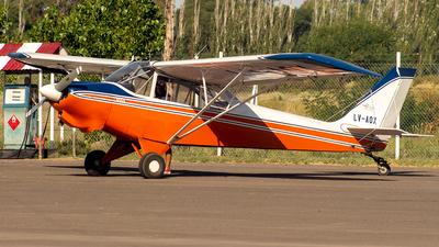 LV-AOX - Aero Boero AB180RVR - Aeroclub San Martín