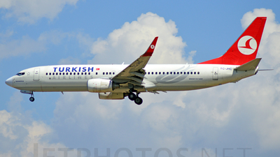 TC-JHC - Boeing 737-8F2 - Turkish Airlines
