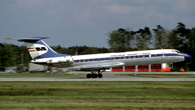 HA-LBN - Tupolev Tu-134A-3 - Malév Hungarian Airlines