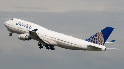 N127UA - Boeing 747-422 - United Airlines