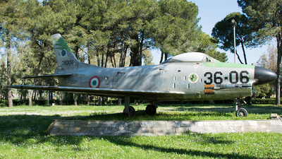 MM53-8308 - Fiat F-86K Sabre - Italy - Air Force