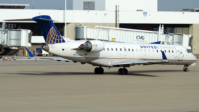 A picture of N531GJ - Mitsubishi CRJ550 - United Airlines - © Jeremy D. Dando