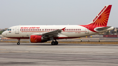 A picture of VTSCX - Airbus A319112 - Air India - © Janam Parikh