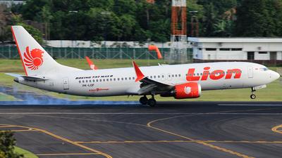 PK-LQF - Boeing 737-8 MAX - Lion Air