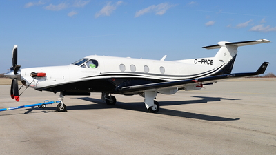 C-FHCE - Pilatus PC-12/45 - Private