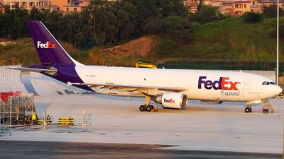 N665FE - Airbus A300F4-605R - FedEx