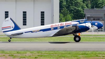 NC13347 - Boeing 247 - United Airlines
