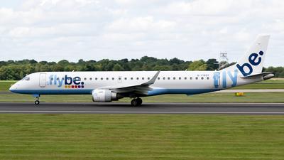 G-FBEF - Embraer 190-200LR - Flybe