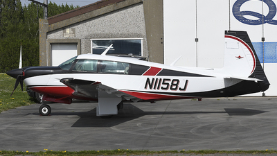N1158J - Mooney M20J-201 - Private