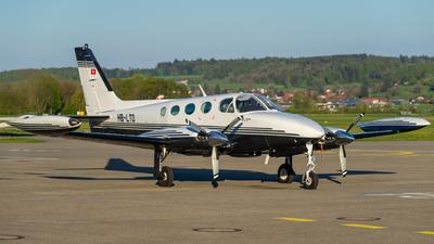 HB-LTO - Cessna 340A - Private