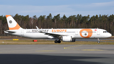 A picture of TCOED - Airbus A321253N - Holiday Europe - © Günther Feniuk