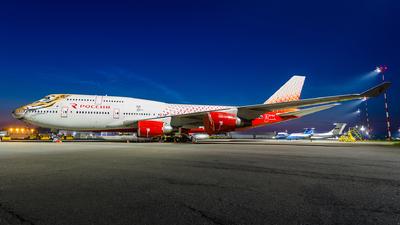 EI-XLD - Boeing 747-446 - Rossiya Airlines