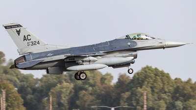 87-0324 - General Dynamics F-16C Fighting Falcon - United States - US Air Force (USAF)