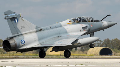506 - Dassault Mirage 2000-5BG - Greece - Air Force