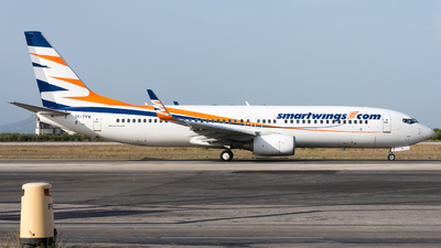 A picture of OKTVW - Boeing 73786Q - Smartwings - © Michael Baumert