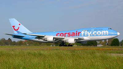 F-HSEX - Boeing 747-422 - Corsair