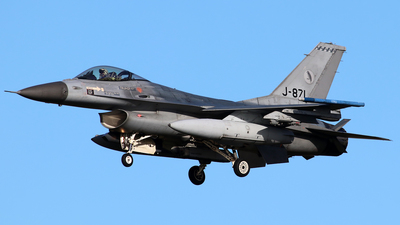 J-871 - General Dynamics F-16AM Fighting Falcon - Netherlands - Royal Air Force
