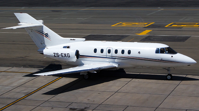 ZS-EXG - Raytheon Hawker 800XP - Private
