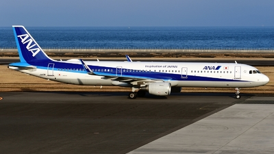 A picture of JA113A - Airbus A321211 - All Nippon Airways - © Abram Chan - AirTeamImages