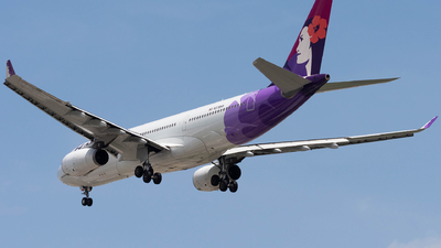 A picture of N378HA - Airbus A330243 - Hawaiian Airlines - © Ryan He
