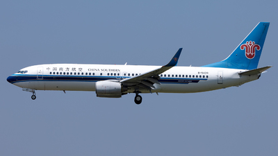 A picture of B5420 - Boeing 73781B - China Southern Airlines - © XPHNGB