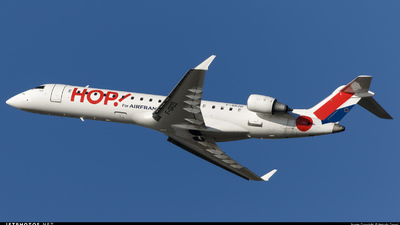 F-GRZD - Bombardier CRJ-701 - HOP! for Air France