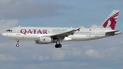 A7-ADF - Airbus A320-232 - Qatar Airways